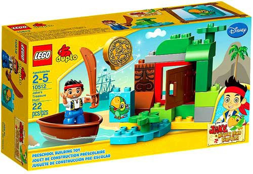 LEGO DIsney Jake and the Never Land Pirates Jake's Treasure Hunt Set #10512