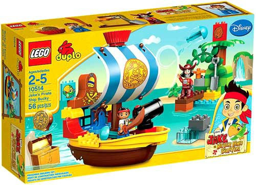 LEGO DIsney Jake and the Never Land Pirates Jake's Pirate Ship Bucky Set #10514