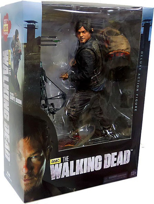 McFarlane Toys Walking Dead AMC TV Deluxe Daryl Dixon Action Figure