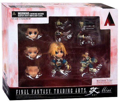 Final Fantasy Trading Arts Kai Zidane Tribal 3-Inch Mini Figure