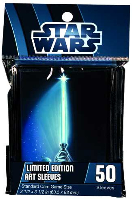 Card Supplies Star Wars Lightsaber Card Sleeves [50 count]