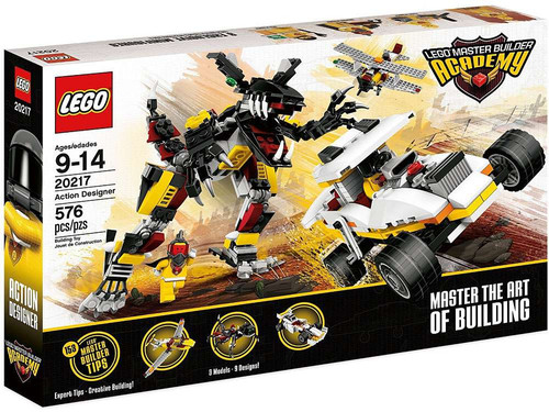 LEGO Master Builder Academy Action Designer Set #20217