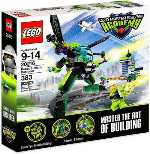 LEGO Master Builder Academy Robot & Micro Designer Set #20216