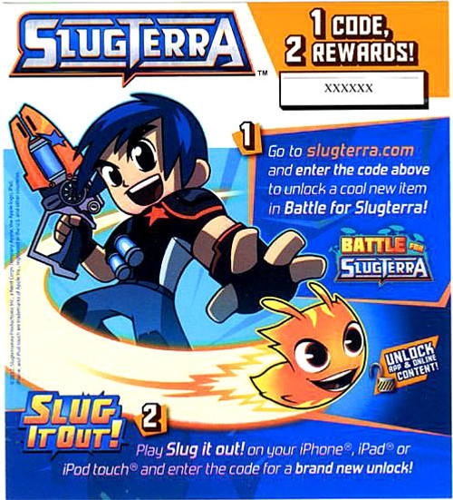 Slugterra Game Code