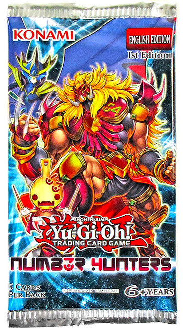 YuGiOh Number Hunters Booster Pack