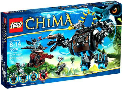 LEGO Legends of Chima Gorzan's Gorilla Striker Set #70008