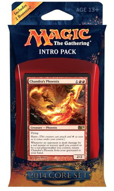 MtG Magic 2014 Fire Surge Intro Pack