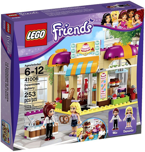 LEGO Friends Downtown Bakery Set #41006