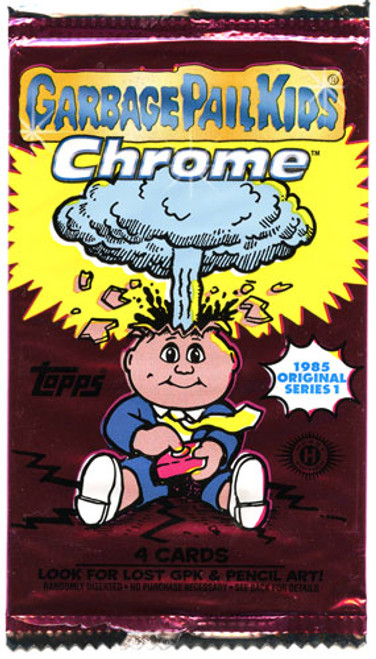 Garbage Pail Kids 2013 Chrome Trading Card Pack [Hobby Edition]