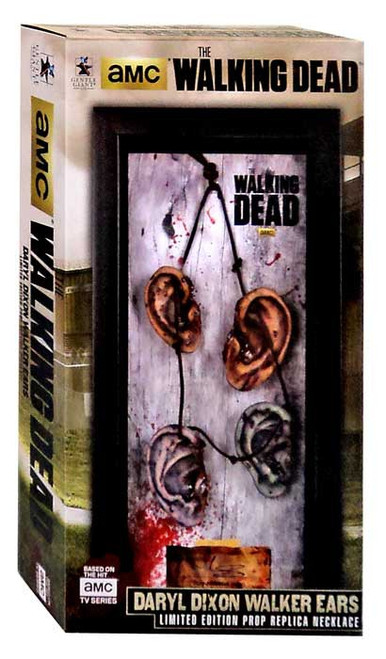The Walking Dead Daryl Dixon's Walker Ears Necklace Prop Replica