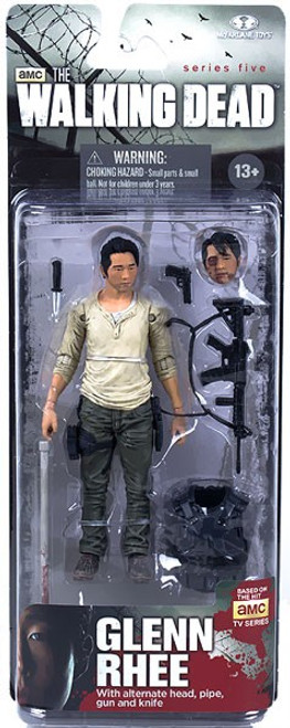 McFarlane Toys Walking Dead AMC TV Series 5 Glenn Rhee Action Figure