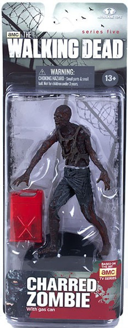 McFarlane Toys Walking Dead AMC TV Series 5 Charred Zombie Action Figure