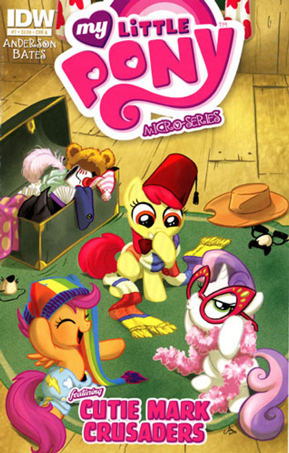 My Little Pony Micro-Series Featuring Cutie Mark Crusaders Comic Book #7 [Cover A]