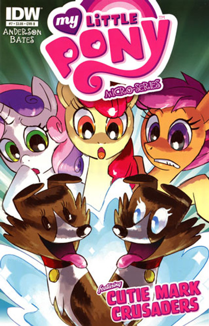 My Little Pony Micro-Series Featuring Cutie Mark Crusaders Comic Book #7 [Cover B]