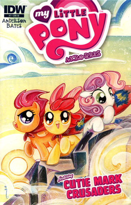My Little Pony Micro-Series Featuring Cutie Mark Crusaders Comic Book #7 [Retailer Incentive]