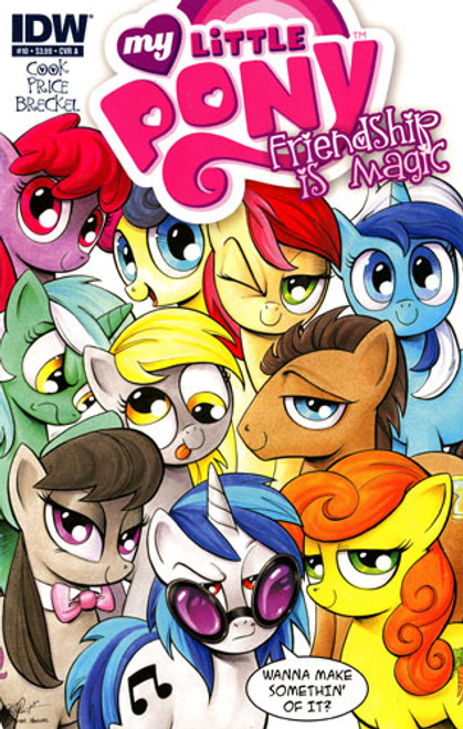 My Little Pony Friendship is Magic Comic Book #10 [Cover A]
