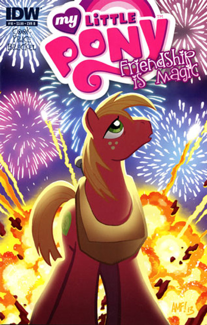 My Little Pony Friendship is Magic Comic Book #10 [Cover B]