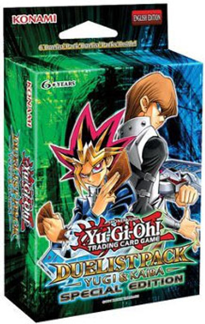 YuGiOh Duelist Pack Yugi & Kaiba Special Edition Pack [Sealed]