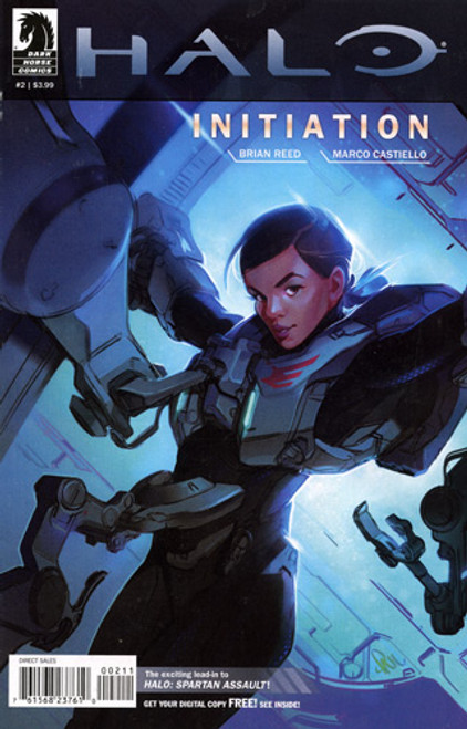 Halo Initiation Comic Book #2 [Paul Richards Cover]