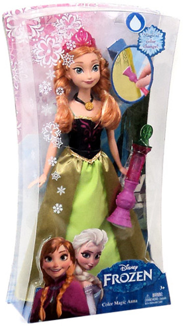 Disney Frozen Color Magic Anna 11-Inch Doll