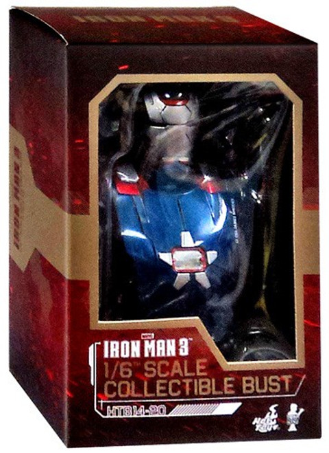 Iron Man 3 1/6th Scale Iron Patriot Bust
