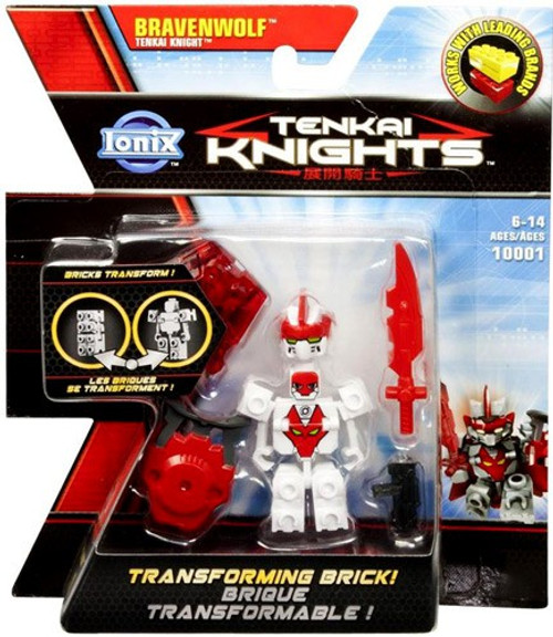 Tenkai Knights Bravenwolf Minifigure #10001