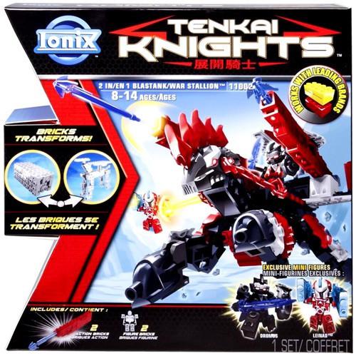 Tenkai Knights Blastank / War Stallion Set #11002