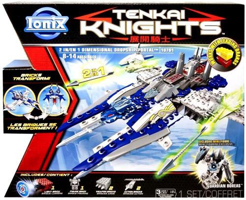 Tenkai Knights Dimensional Dropship & Portal Minifigure 3-Pack #10701