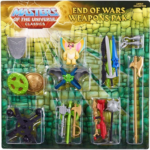 Masters of the Universe Classics Club Eternia End of Wars Exclusive Action Figure Weapons Pak
