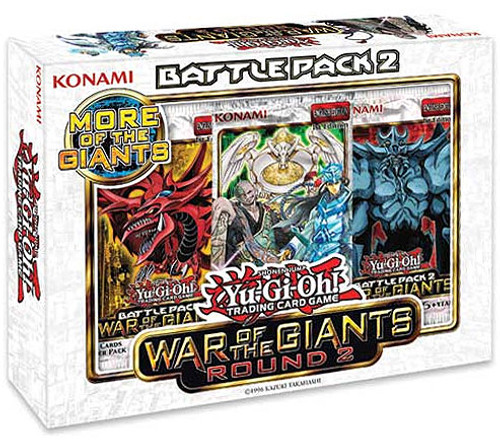 YuGiOh Battle Pack 2: War of the Giants Round 2 Battle Kit [Sealed]