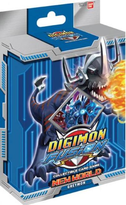 Digimon Fusion Greymon Starter Deck