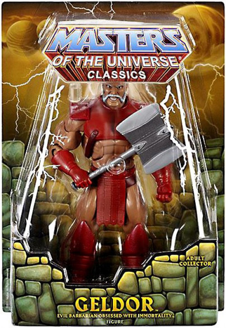 Masters of the Universe Classics Club Eternia Geldor Exclusive Action Figure