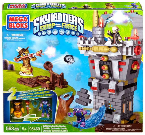Mega Bloks Skylanders Swap Force Outlands Kaotic Castle Exclusive Set #95469