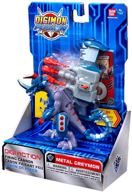 Digimon Fusion Digi-Action Metalgraymon Action Figure