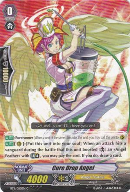 Cardfight Vanguard Seal Dragons Unleashed Common Cure Drop Angel BT11/050