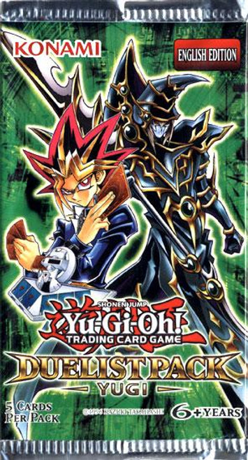 YuGiOh Duelist Pack: Yugi Booster Pack