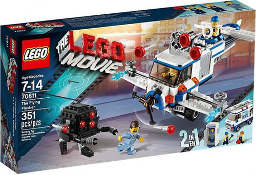 The LEGO Movie The Flying Flusher Exclusive Set #70811