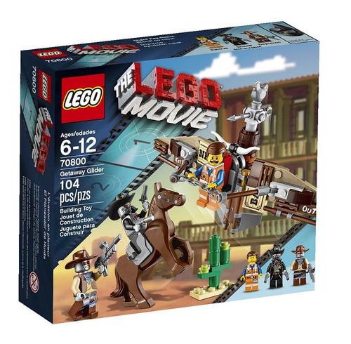 The LEGO Movie Getaway Glider Set #70800