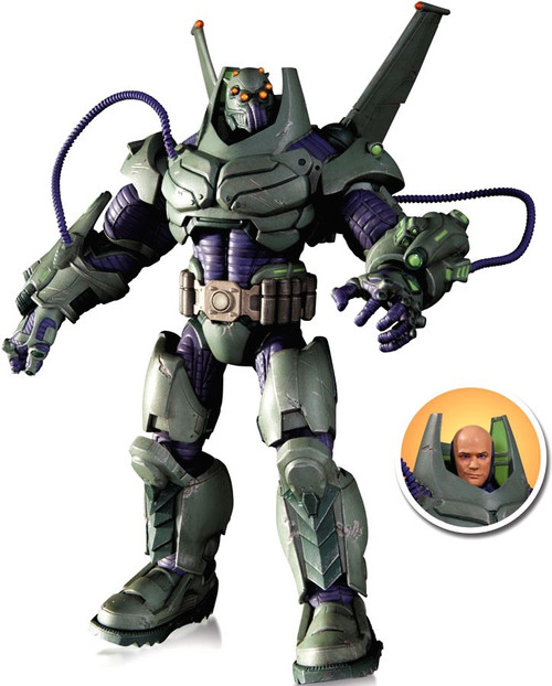 DC Super Villains Armored Suit Lex Luthor Action Figure