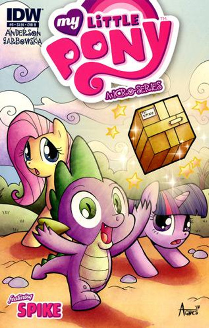 My Little Pony Micro-Series Featuring Spike Comic Book #9 [Cover B]