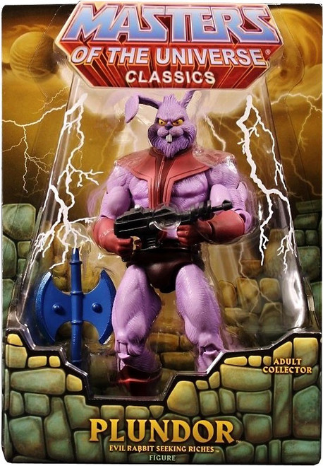 Masters of the Universe Classics Club Eternia Plundor Exclusive Action Figure