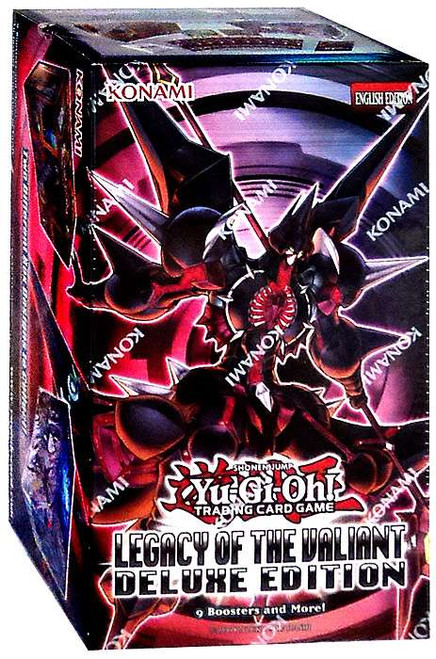 YuGiOh Zexal Legacy of the Valiant Deluxe Edition Box