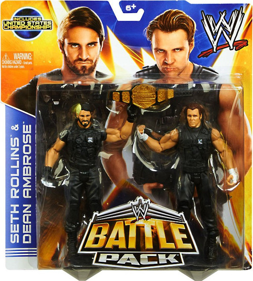 WWE Wrestling Series 26 Seth Rollins & Dean Ambrose Action Figure 2-Pack [United States Championship]