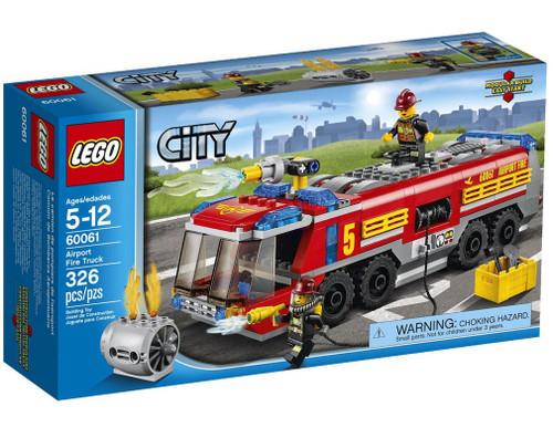 LEGO City Airport Fire Truck Set #60061