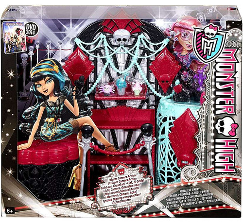 Monster High Frights, Camera, Action Premiere Party 10.5-Inch Doll Playset