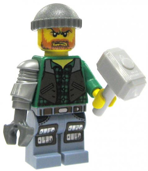 LEGO Monster Fighters Loose Jack McHammer Minifigure [Loose]
