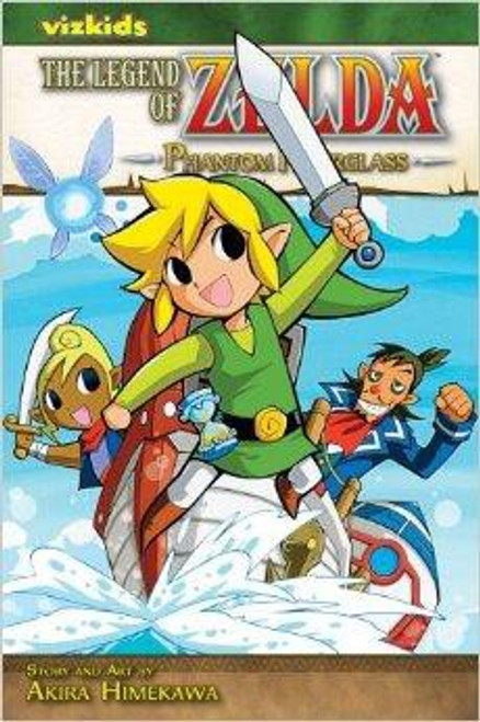 The Legend of Zelda Phantom Hourglass Manga
