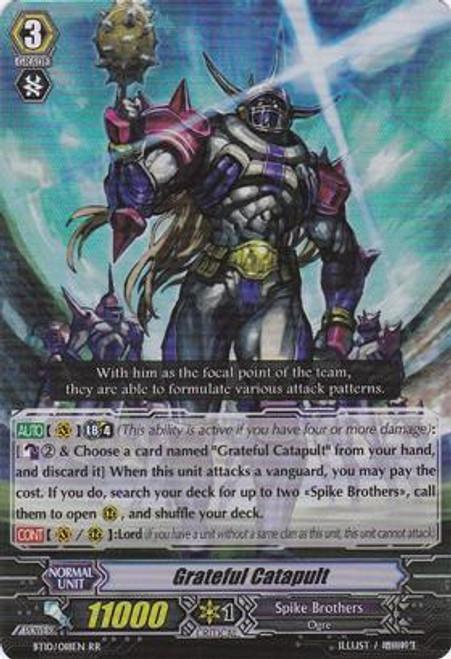 Cardfight Vanguard Triumphant Return of the King of Knights RR Rare Grateful Catapult BT10/018
