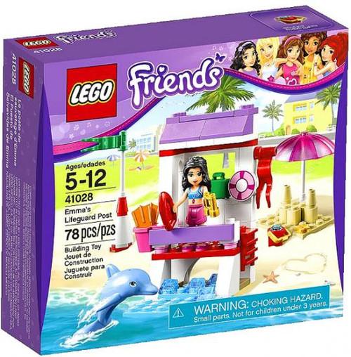 LEGO Friends Emma's Lifeguard Post Set #41028