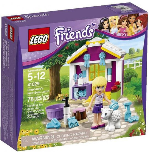 LEGO Friends Stephanie's Newborn Lamb Set #41029